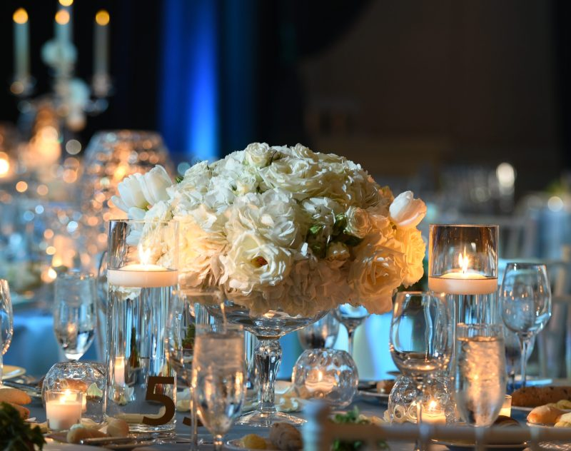Winter Theme Centerpiece from Topher Mack Floral & Events- CHOA Hope & Will Ball 2018