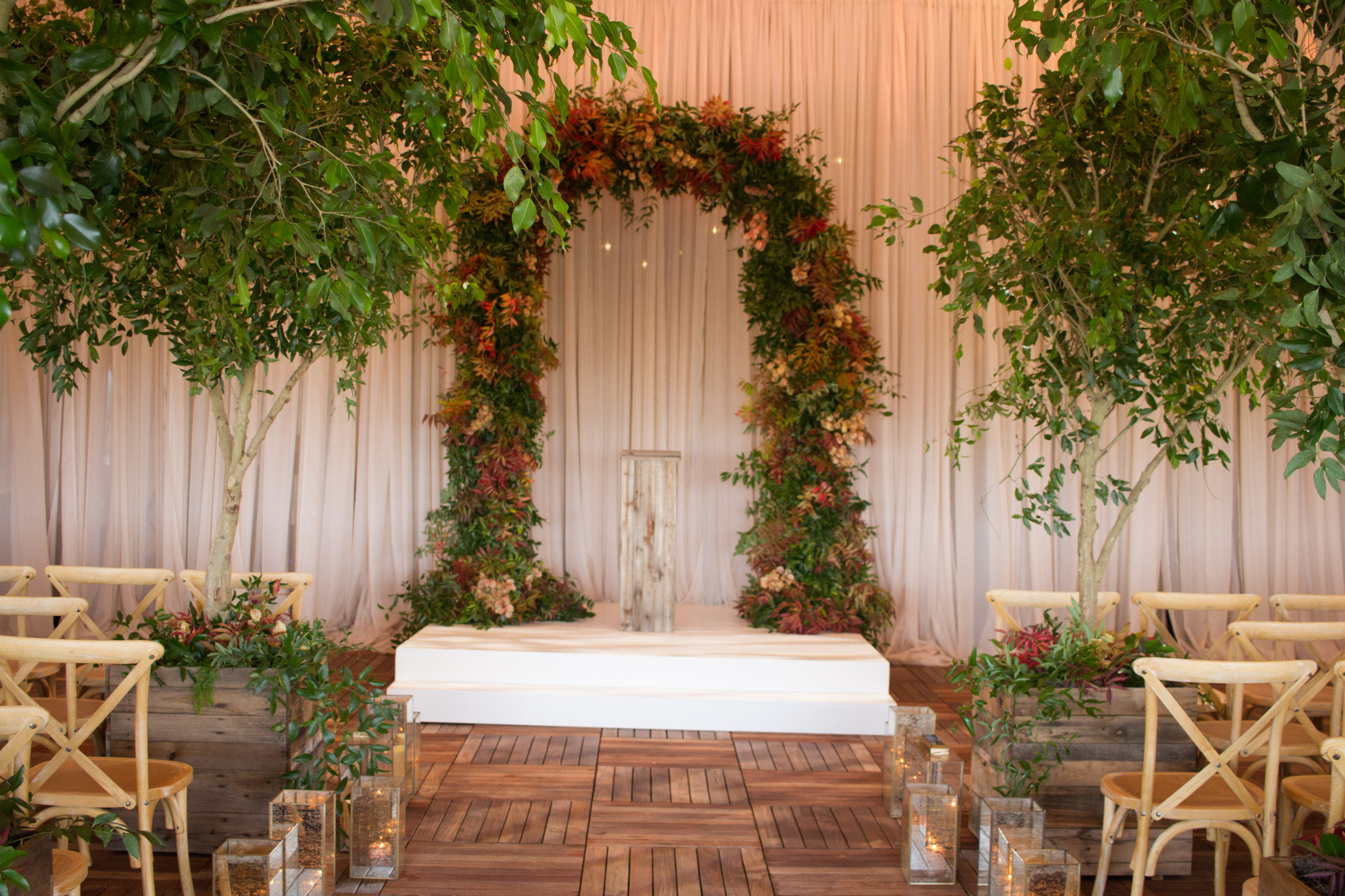 Stunning Wedding Arch Chuppah from Topher Mack Floral & Events in Atlanta
