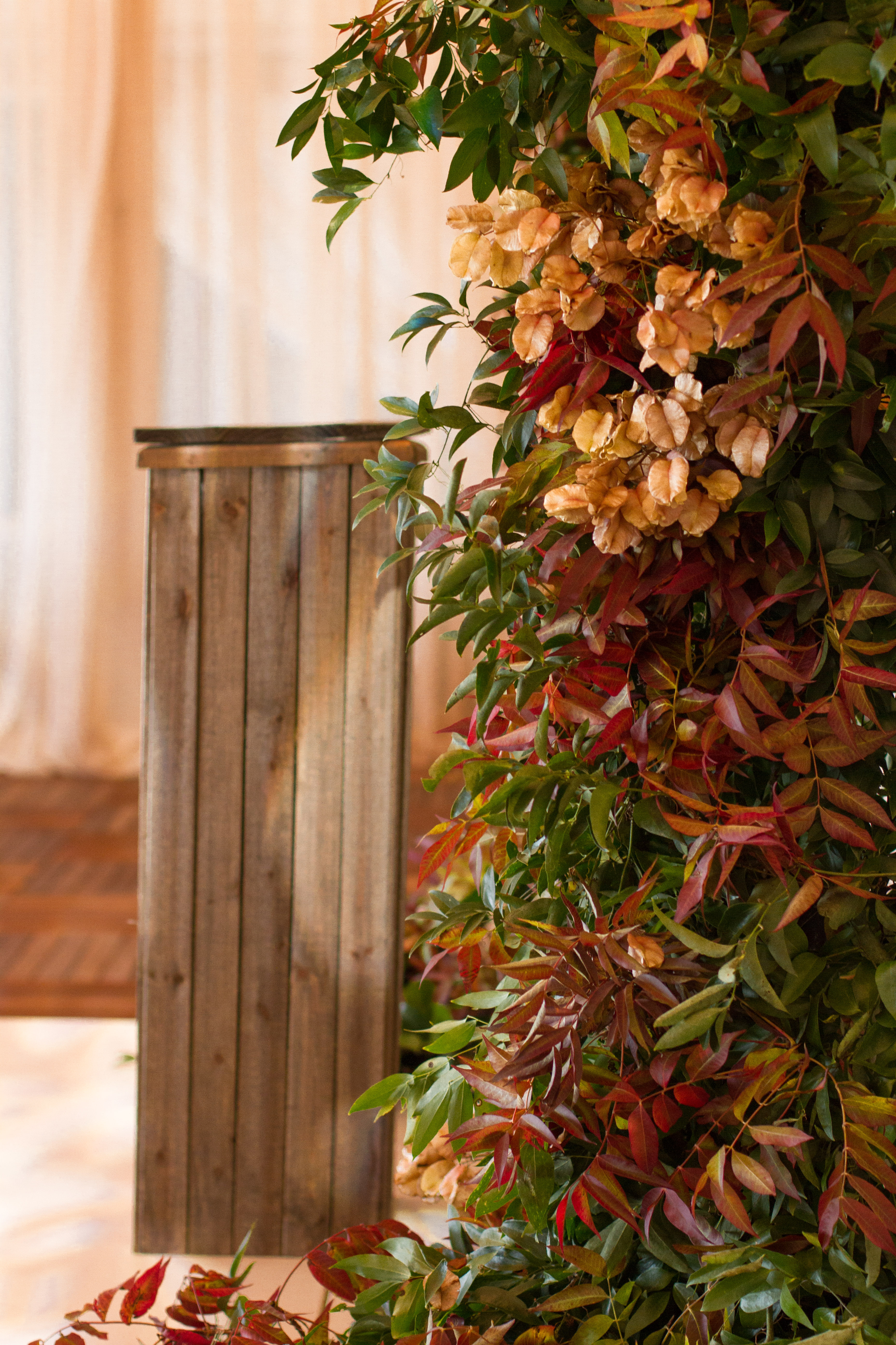 Gorgeous Fall Rooftop Wedding in Atlanta from Topher Mack Floral & Events