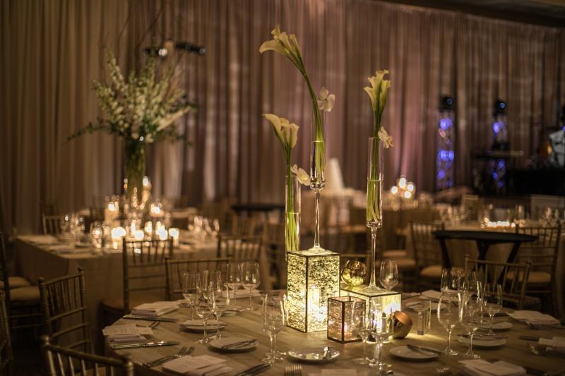 Modern Wedding Centerpieces from Top Atlanta Wedding Designer, Chris Macksey of Topher Mack Floral & Events