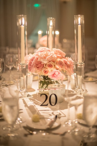 Pink Rose Centerpiece ideas from Atlanta's Top Wedding Designer, Chris Macksey of Topher Mack Floral & Events